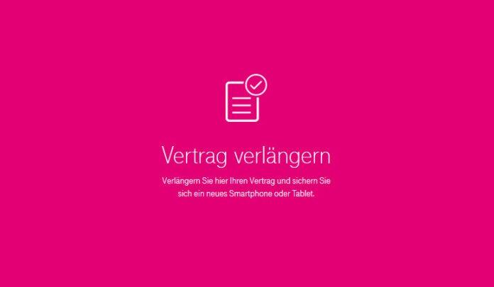 Telekom Vertragsverlängerung Vertrag Mit Handy Verlängern