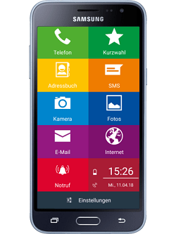 Klarmobil Bundle Angebot Mit Einfachfon Samsung Galaxy J3 2016