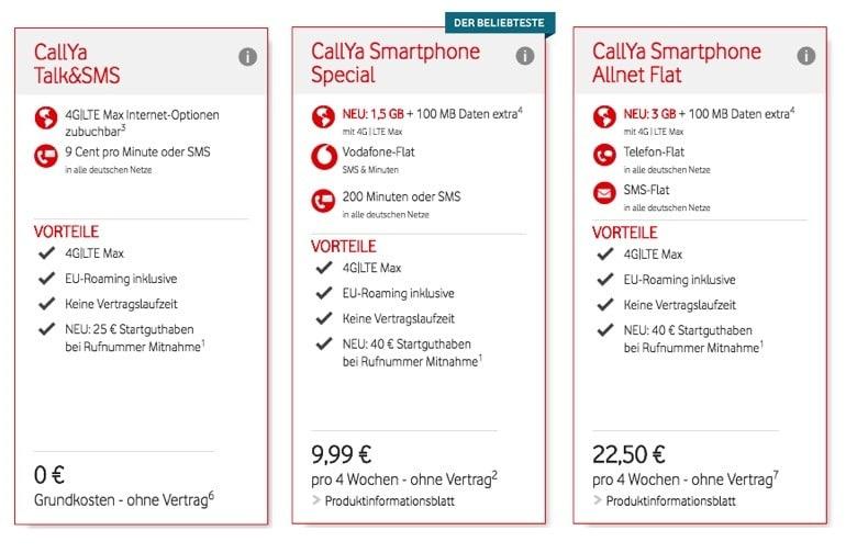 Vodafone Prepaid Tarife Wechseln