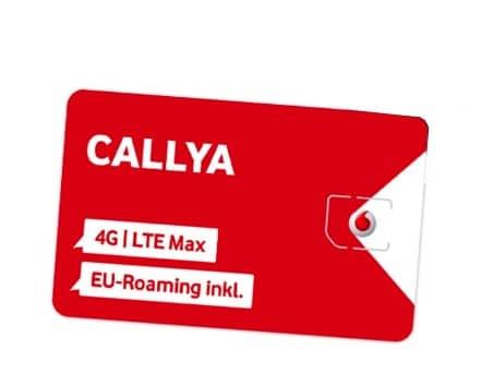Callya Karte.Vodafone Prepaid Tarife Callya Prepaid Karten Ohne Vertrag