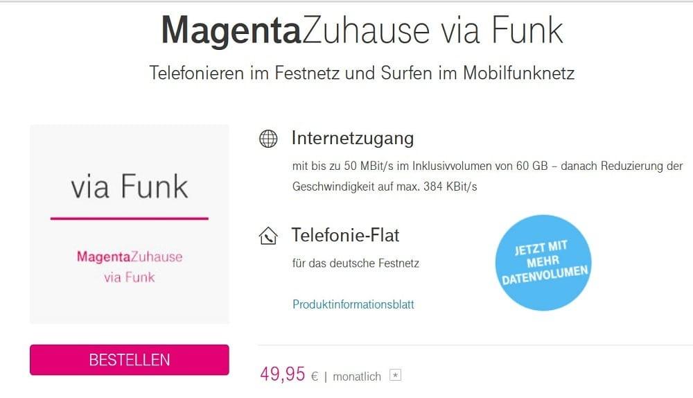 Lte Zuhause Telekom