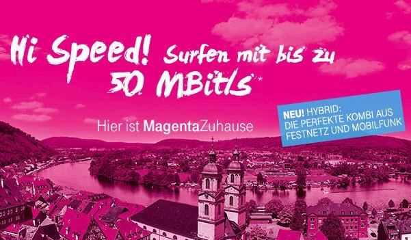 Telekom Magenta Zuhause LTE Tarif via Funk mit 60 GB gestartet