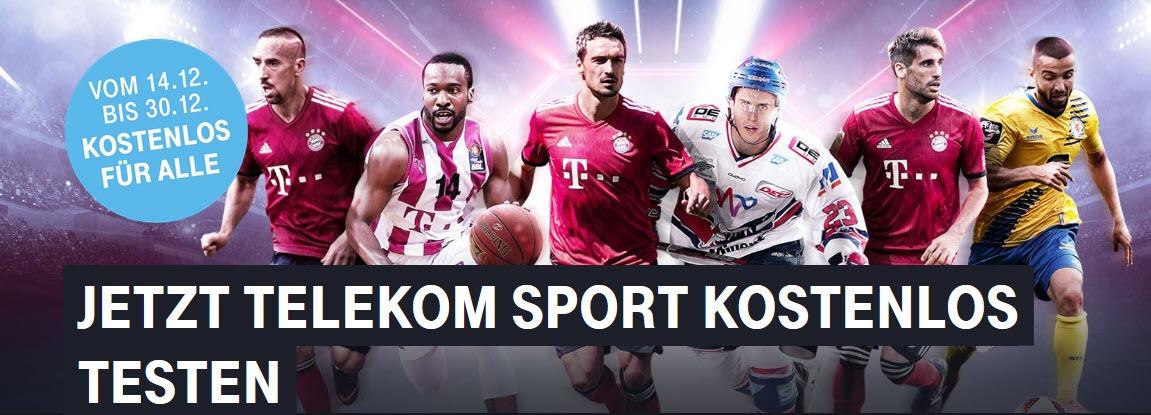 Telekom Sport Für Magenta Tv Kunden Bis 30 Dezember Kostenlos