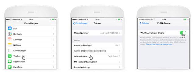 Telekom Wlan Call Wifi Telefonie Mit Telekom Handytarif